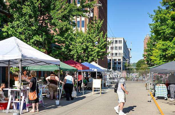 cincinnati street market - pop up store stock pictures, royalty-free photos & images