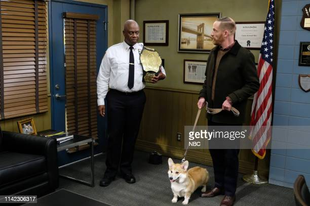 NINE Cinco De Mayo Episode 616 Pictured Andre Braugher as Ray Holt Marc Evan Jackson as Kevin Cozner