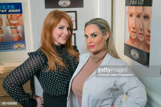 PEOPLE Cindarestylox Episode 305 Pictured Julie Klausner Coco Austin