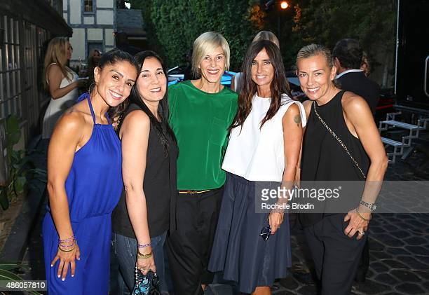 Cindee Rood Van Khanna Sira Butler Draven Godwin and Simone Young Smith attend the Accelerate4Change charity event presented by Dr Ben Talei Cinemoi...