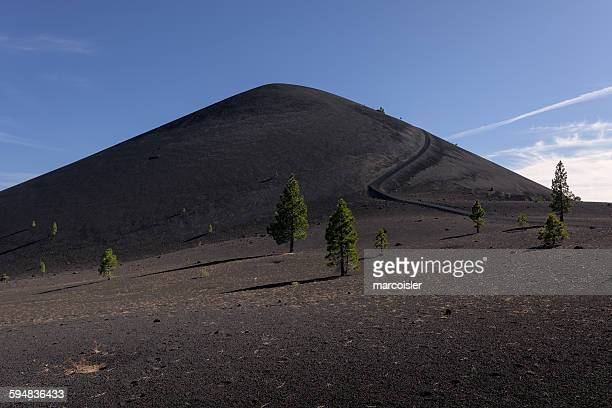 Cinder Cone and Lava Beds, Lassen Volcanic Park, California, USA
