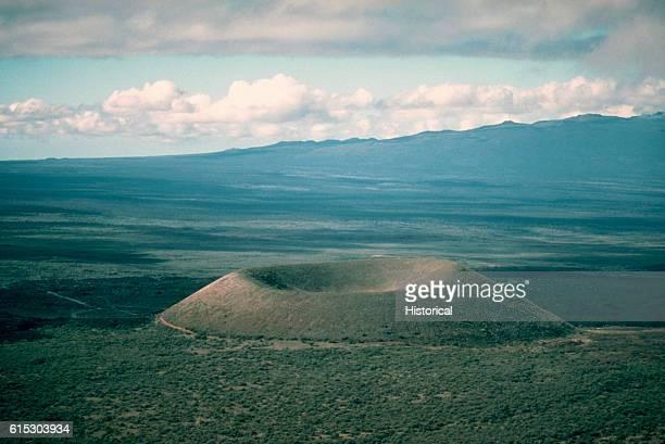 Cinder Cone of Mauna Kea Volcano