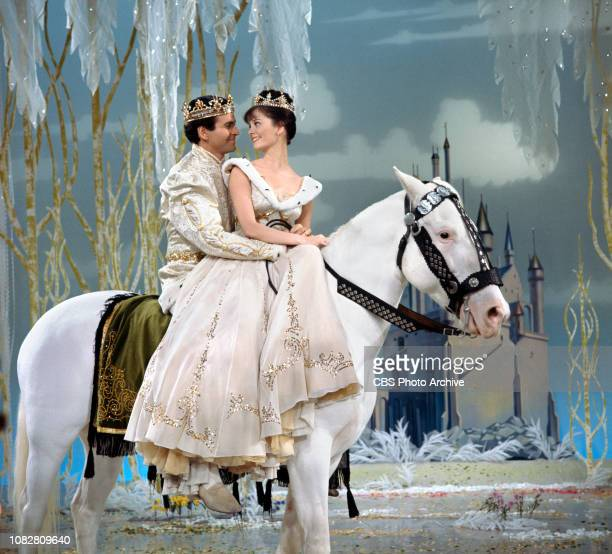 Cinderella a made for TV movie CBS television special originally broadcast February 22 1965 Pictured left to right Stuart Damon Lesley Ann Warren