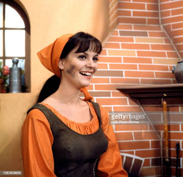 Cinderella a made for TV movie CBS television special originally broadcast February 22 1965 Pictured is Lesley Ann Warren