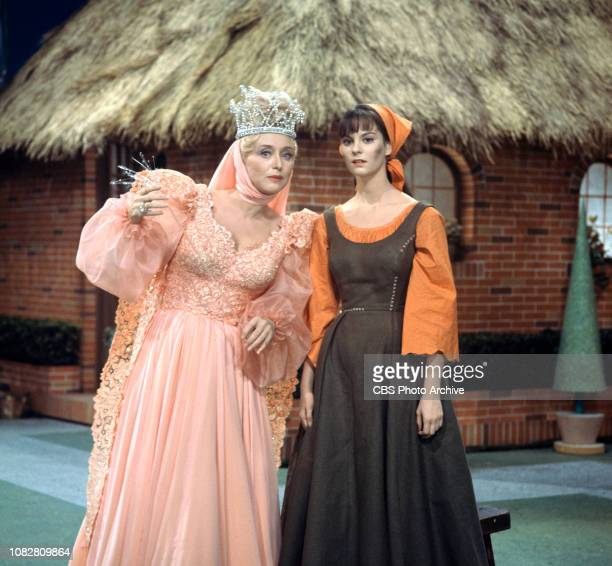 Cinderella a made for TV movie CBS television special originally broadcast February 22 1965 Pictured left to right Celeste Holm Lesley Ann Warren