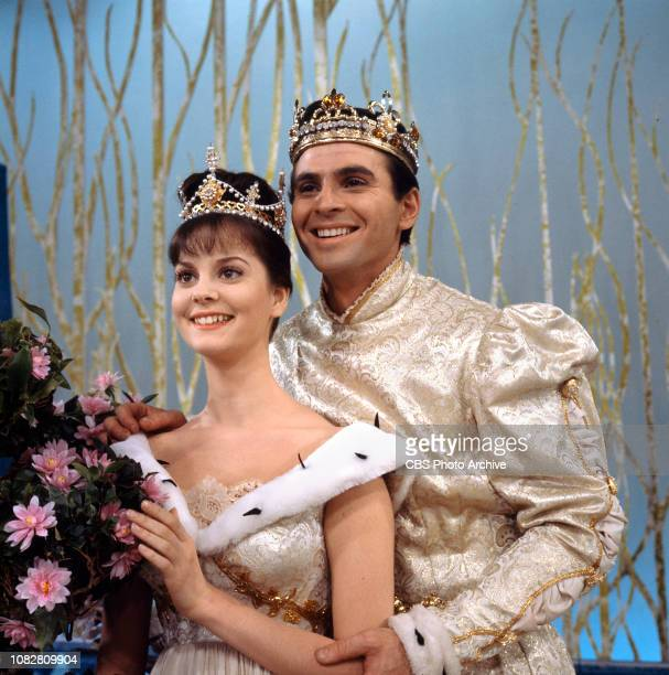 Cinderella a made for TV movie CBS television special originally broadcast February 22 1965 Pictured left to right Lesley Ann Warren Stuart Damon