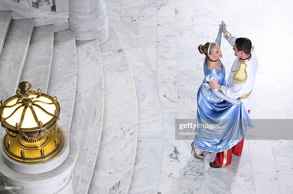Cinderella and Prince Charming : Stock Photo