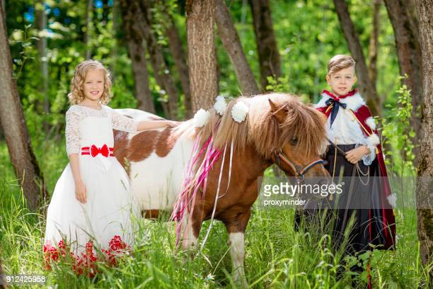 Cinderella And Prince With Pony