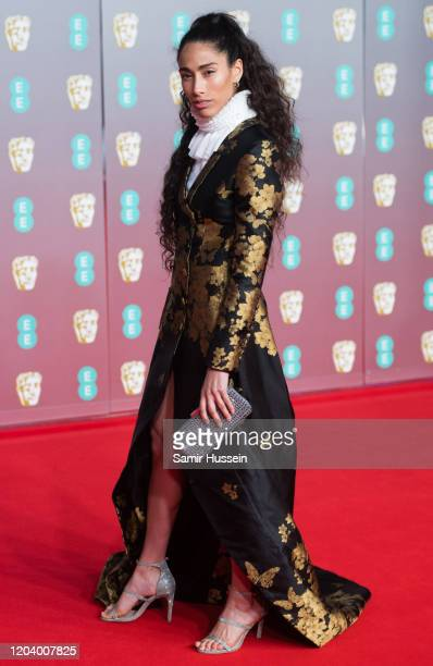 Cinderella Balthazar attends the EE British Academy Film Awards 2020 at Royal Albert Hall on February 02 2020 in London England