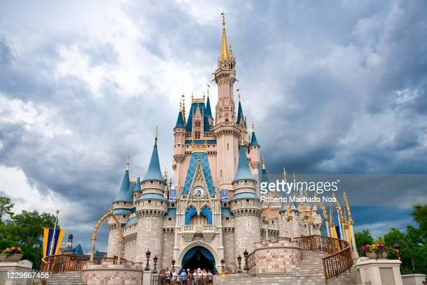 Cinderella Castle in Walt Disney World.