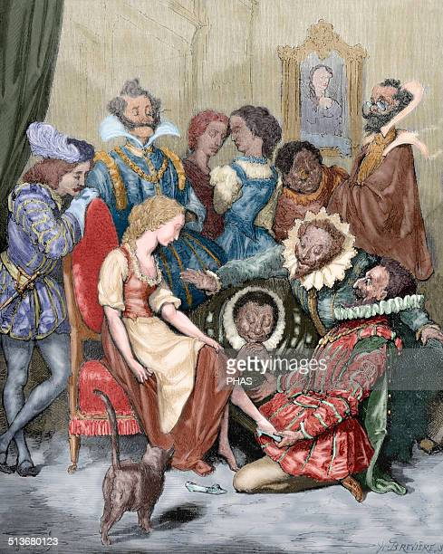 Cinderella Character in the tale written by Charles Perrault The gentleman putting the slipper in his tiny foot saw that he was very suitable...