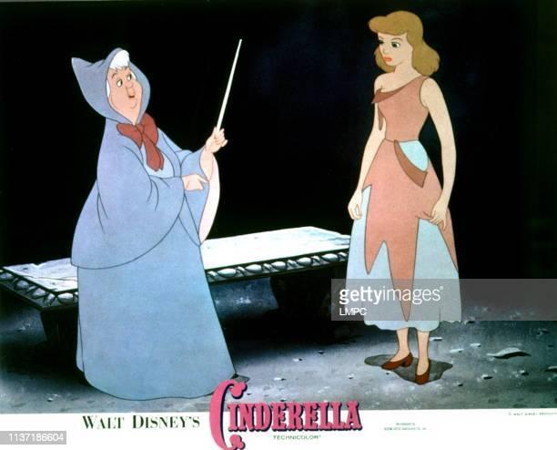 Cinderella lobbycard 1950