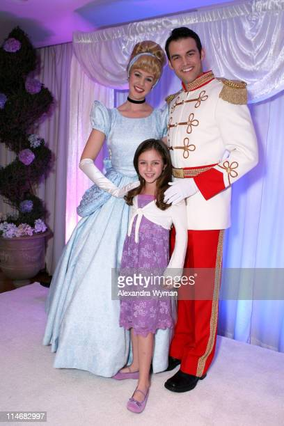 Cinderella Prince Charming and Ryan Newman during 'Cinderella III A Twist in Time' DVD Release Benefiting St Jude Children's Research Hospital at...