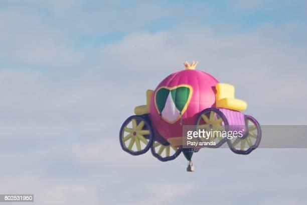Cinderella´s Carriage hot air balloon at Leon, Gto.