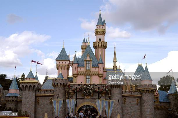 Cinderella's Castle at Disneyland Resort