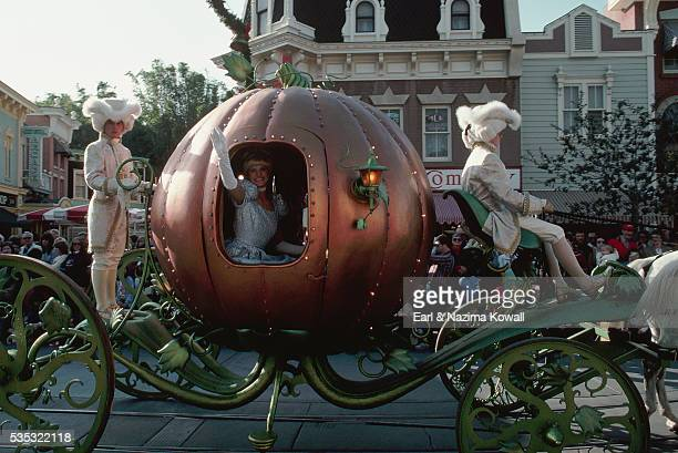 Cinderella's Coach at Disneyland
