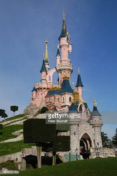 Cinderellas Schloss 'Disneyland' 'Disneyland Resort Paris' Paris Frankreich Europa