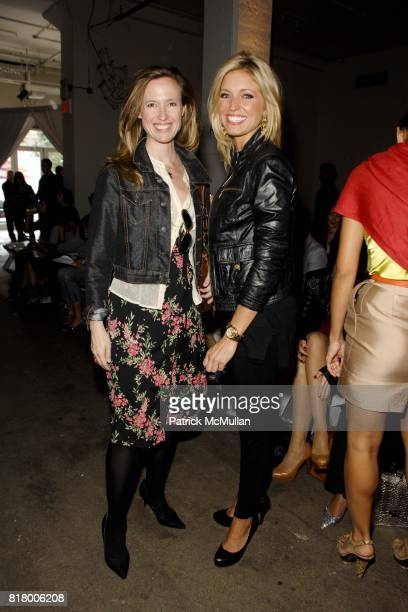 Cindi Cook and Ainsley Earhardt attend PARKCHOONMOO Spring/Summer 2011 Fashion Show at Exit Art on September 9 2010 in New York City