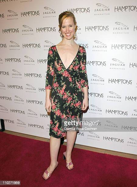 Cindi Cook Editor in Chief of Hamptons Magazine during Hamptons Magazine Celebrates the Premiere of its Spring Issue with Cover Girl Petra Nemcova...