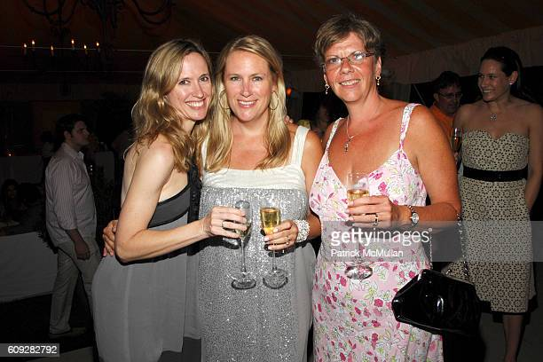 Cindi Cook Pamela Wilcox and Colleen Hunter attend VEUVE CLICQUOT Yellowboam Launch at Bridgehampton on July 14 2007