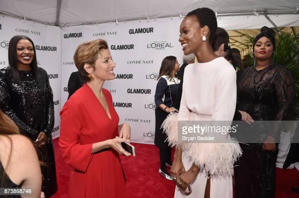 Cindi Leive and Herieth Paul attend Glamour's 2017 Women of The Year Awards at Kings Theatre on November 13 2017 in Brooklyn New York