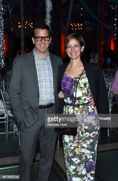 Cindi Leive and Howard Bernstein attend the Eighth Annual Brooklyn Artists Ball at The Brooklyn Museum on April 17 2018 in New York City