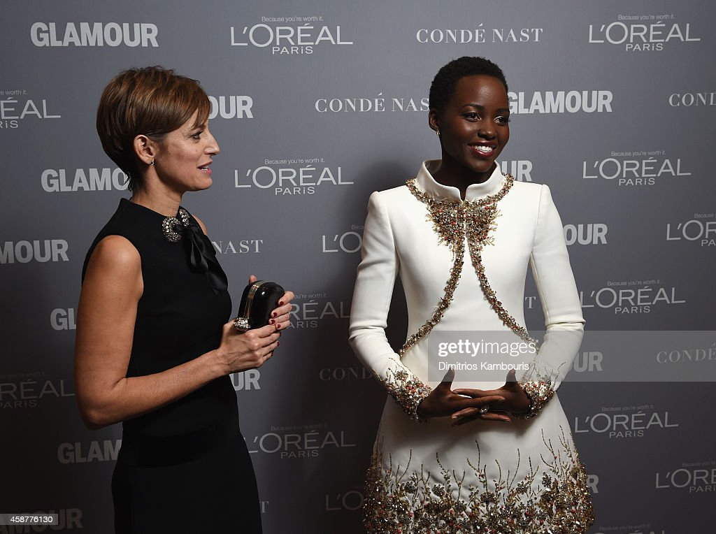 Cindi Leive (L) and Lupita Nyong'o attend the Glamour 2014 Women Of The Year Awards at Carnegie Hall on November 10, 2014 in New York City.