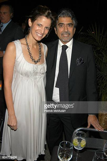 Cindi Leive and Sonny Mehta attend GLAMOUR hosts Marisa Acocella Marchetto's CANCER VIXEN Book Party at Da Silvano on September 21 2006 in New York...