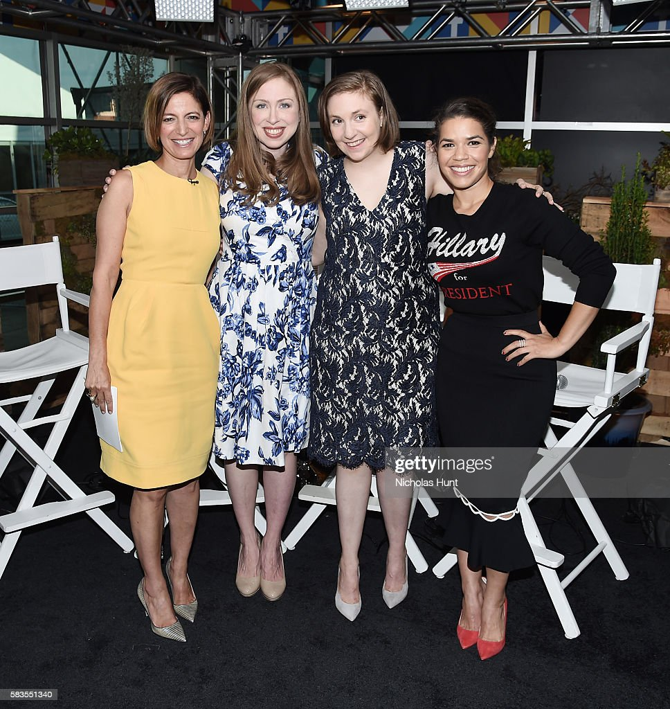 PA: Glamour And Facebook Host Conversation With Cindi Leive, Chelsea Clinton, Lena Dunham, America Ferrera At The Democratic National Convention