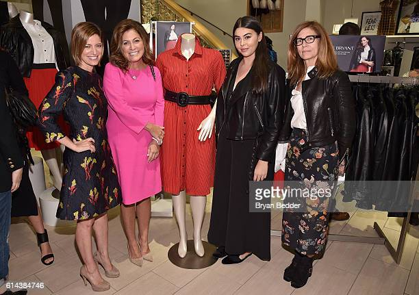 Cindi Leive Connie Anne Phillips Lauren Chan and Sasha Iglehart attend the Glamour x Lane Bryant Collection Launch at Lane Bryant 34th Street on...