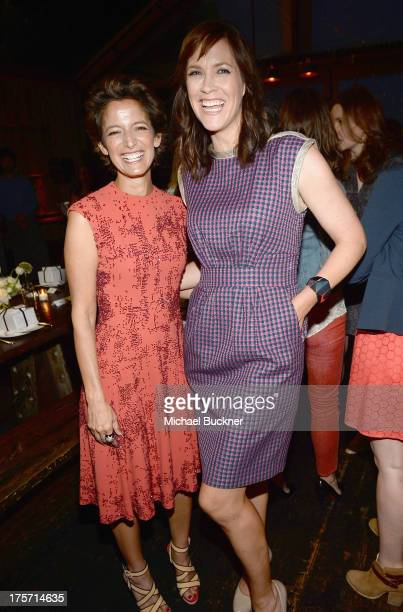 Cindi Leive, Editor-In-Chief Glamour Magazine and Writer/Director Maggie Carey attend Glamour Magazine's Toast to 35 Women Under 35 in Hollywood...