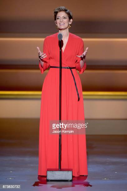 Cindi Leive speaks onstage at Glamour's 2017 Women of The Year Awards at Kings Theatre on November 13 2017 in Brooklyn New York