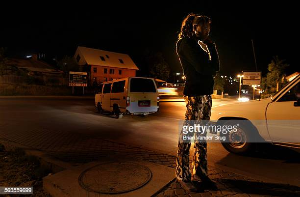 Cindy a Maseru prostitute stands on a street corner just blocks from the American Embassy waiting for customers She has only been in the sex trade...