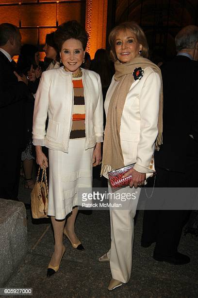 Cindy Adams and Barbara Walters attend VANITY FAIR Tribeca Film Festival Party hosted by Graydon Carter and Robert DeNiro at The State Supreme...
