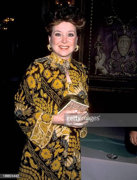 Cindy Adams at the Friars Club Roasts Alan King WaldorfAstoria Hotel New York City