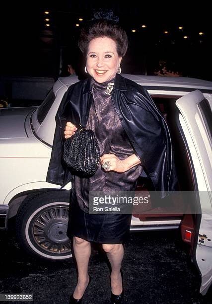 Cindy Adams at the Opening Night Party for 'An Inspector Calls' Sardi's Restaurant New York City