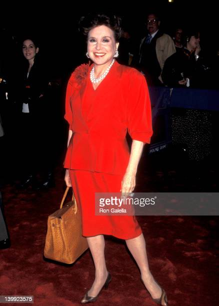 Cindy Adams at the Premiere of 'The Wings of the Dove' Ziegfeld Theater New York City