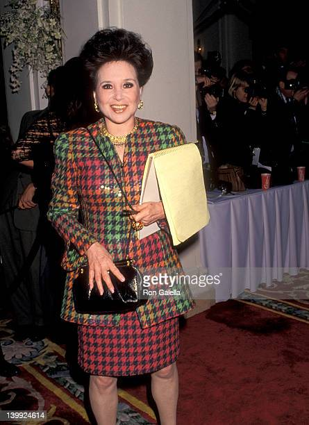 Cindy Adams at the The Wedding of the Year Trump Takes Another GambleWedding of Donald Trump Marla Maples Plaza Hotel New York City