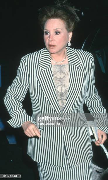 Cindy Adams attends Liza Minnelli Wedding Rehearsal at Marble Collegiate Church in New York City on March 15, 2002.