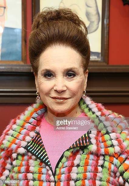 Cindy Adams attends the The Deadline Club's New York Journalism Hall of Fame 2013 Luncheon at Sardi's on November 14 2013 in New York City