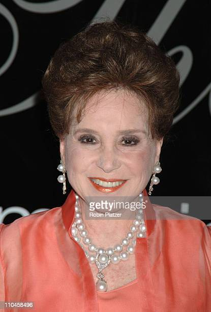 Cindy Adams during 31st Annual American Women in Radio Television Gracie Allen Awards Red Carpet at Marriot Marquis in New York City New York United...