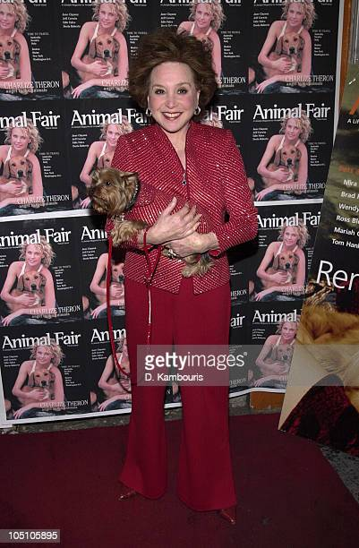 Cindy Adams during Animal Fair Magazine Hosts Its 3rd Annual Paws For Style at Club EXIT in New York New York United States