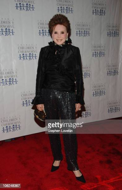 Cindy Adams during Children at Heart Gala Dinner and Benefit Arrivals at Chelsea Piers Pier 60 in New York City New York United States