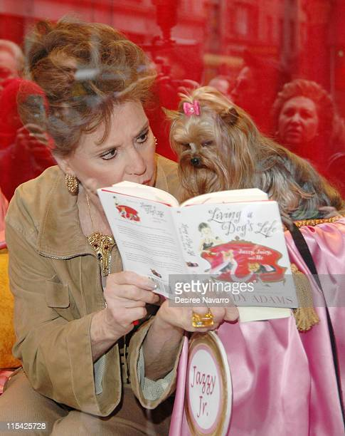 Cindy Adams during Cindy Adams Signs her New Book Living A Dog's Life March 15 2006 at Barnes Noble in New York City New York United States