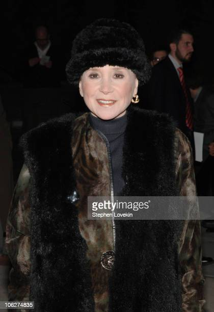 Cindy Adams during Mr Marmalade OffBroadway Opening Night Arrivals at Laura Pels Theatre in New York City New York United States