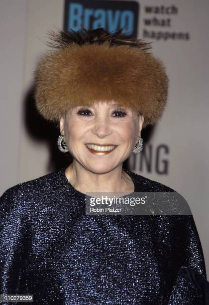 Cindy Adams during Museum of the Moving Image Salute to Ron Howard at The WaldorfAstoria in New York City New York United States