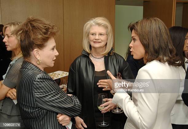 Cindy Adams Geraldine Laybourne and Soledad O'Brien