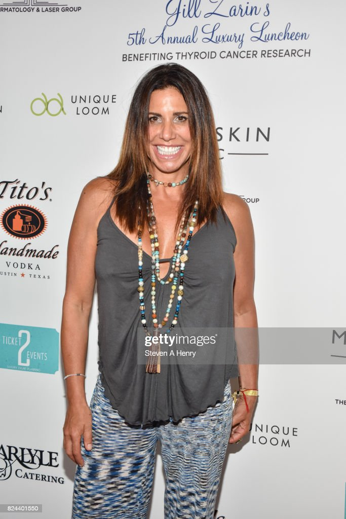 Cindy Barshop attends Jill Zarin's 5th Annual Luxury Luncheon at Private Residence on July 29, 2017 in Southampton, New York.