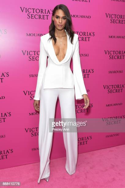 Cindy Bruna attends 2017 Victoria's Secret Fashion Show In Shanghai After Party at MercedesBenz Arena on November 20 2017 in Shanghai China