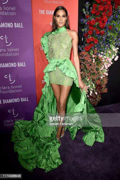 Cindy Bruna attends Rihanna's 5th Annual Diamond Ball at Cipriani Wall Street on September 12, 2019 in New York City.